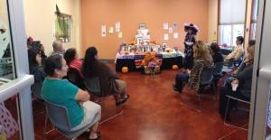 Dia de los Muertos celebration at Radio KDNA.